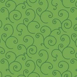 KimberBell Basics SCROLL GREEN