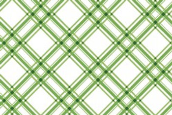 KimberBell Basics DIAG PLAID GREEN