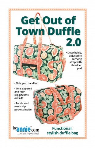 Get Out Of Town Duffle 2.0 By Annie