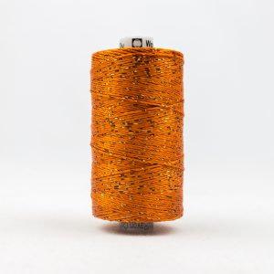WONDERFIL DAZZLE 8wt Rayon with Metallic Thread ORANGE