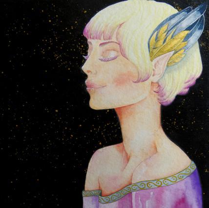 watercolor work