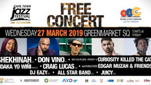 Jam-packed Line Up for CTIJF's Free Community Concert 2019