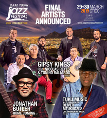Jazz Fest 2019 line up concludes with GIPSY KINGS and JONATHAN BUTLER