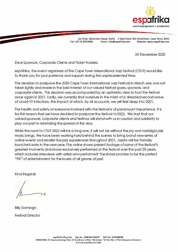 CTIJF 2021 Letter from Festival Director