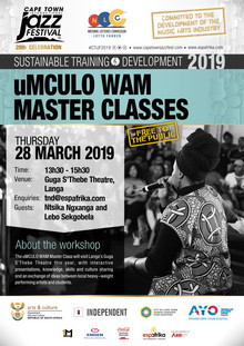 Music Master Class makes it's way to Langa