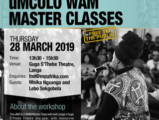 Music Master Class makes it's way to Langa