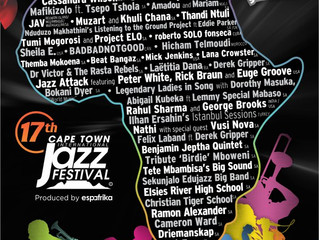 The Cape Town International Jazz Festival announces four more artists to conclude the 17th CTIJF Lin