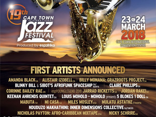 Festinos spoilt for choice as phenomenal 19th Cape Town International Jazz Festival line-up revealed