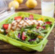 boxed salad