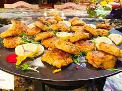 Crab Cakes Buffet Style