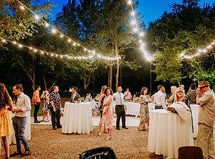 Courtyard+Reception+w+Lighting+++Guests+