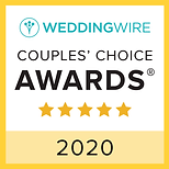 Wedding Wire 2020 Couples' Choice Awards
