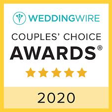 wedding wire 2020 couples' choice winner