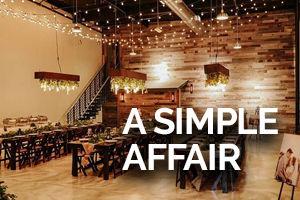 A Simple Affair Venue