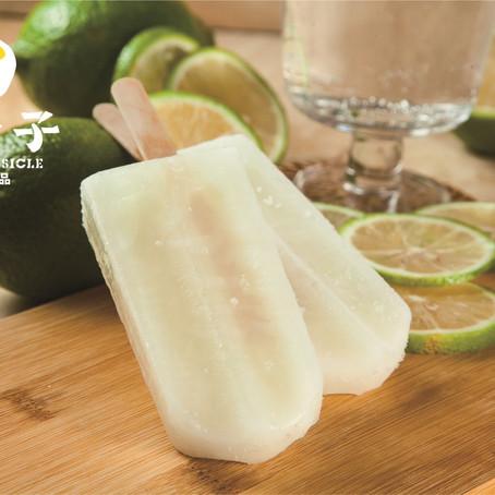 從酸到甘甜的檸檬清冰棒 被酒吧做成Mojito調酒口味