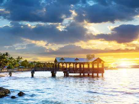Private air charter to Key West