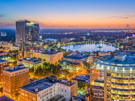 Private Air Charters to Orlando