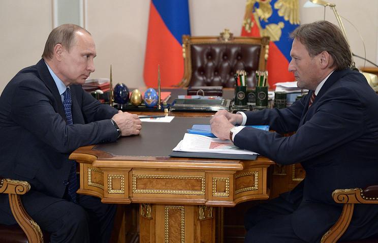 Дело Осипенко. Титов, Путин- доклад