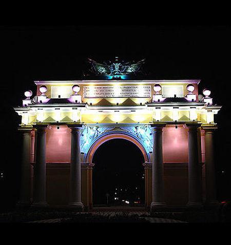 Дело Осипенко. Триумфальная арка