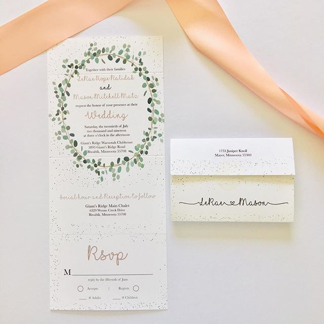 Wedding Invitation Seal and Send