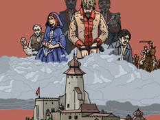 VIDEO Príbeh úteku z hradu Ľubovňa ožil v komixe