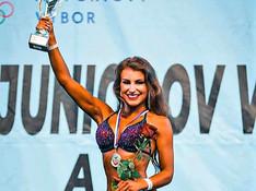 Natália Rybovičová získala prvý juniorský titul vo fitness