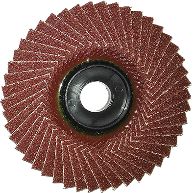 flexible flap disc made by SKD flexible flap disc machine