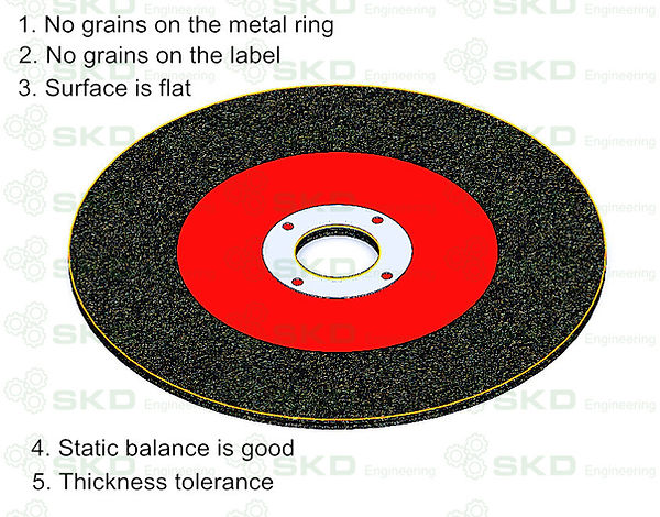 How to makea perfect appearance resin-bond grinding wheel?