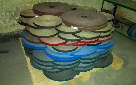 Sanding Cloth Strip Rolls for Flap Disc Production