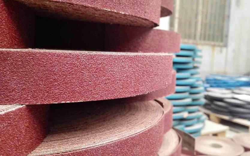 coated abrasive conversion_sanding cloth belts