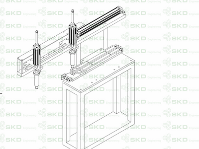 Independent automatic Metal Ring Load Units