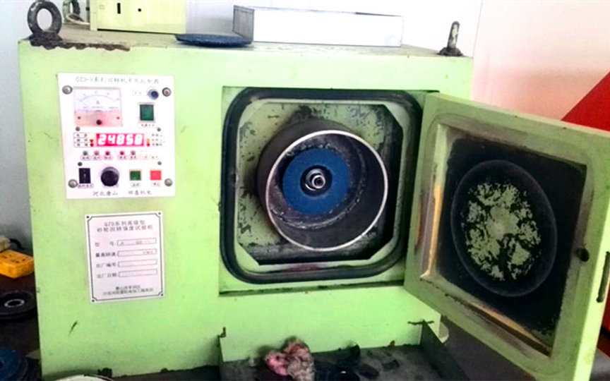 Rotary Speed Tester for Flap Discs