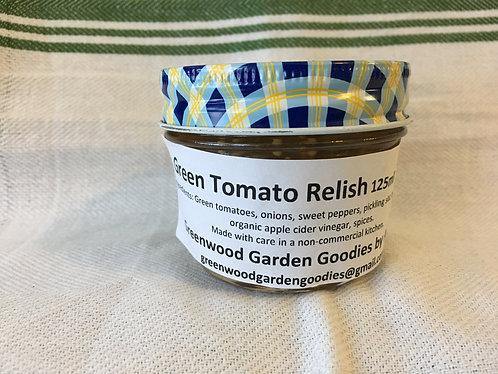 Green Tomato Relish 125ml