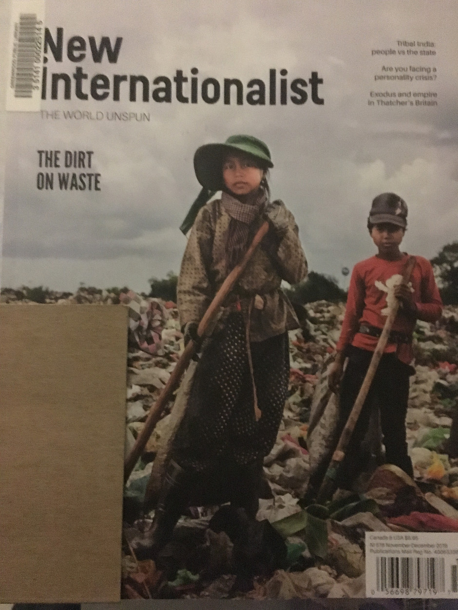 Day 43 - Magazine New Internationalist