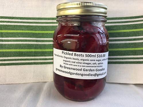 Pickled Red Beets 500ml