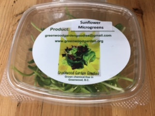 Sunflower Microgreens 2oz