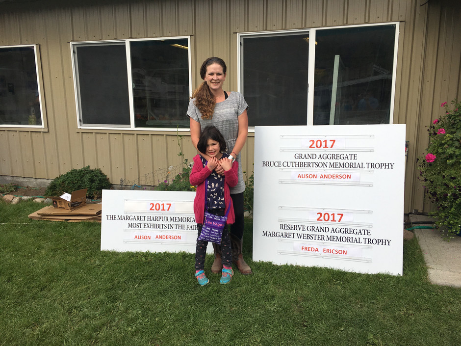2017 Rock Creek Fall Fair Grand Aggregate
