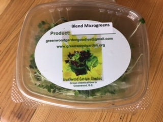 Blend of Microgreens 2oz