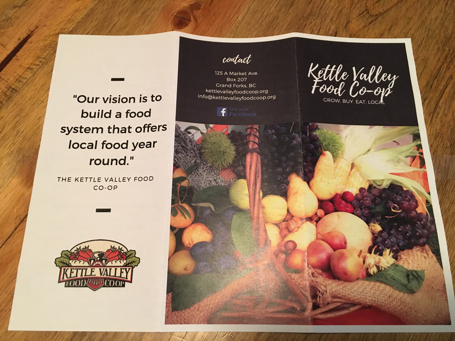 Day 37 - Kettle Valley Food Co-op
