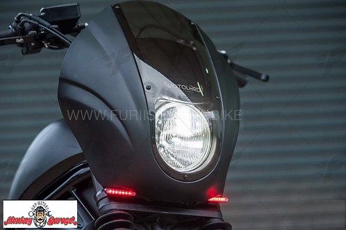 Honda Rebel Club head light cover (HD style)