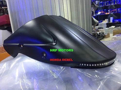 Honda Rebel 300/500 Short rear fender with taillights.
