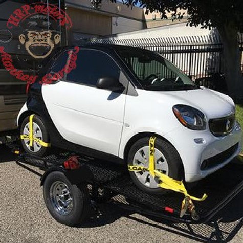 Smart Car Trailer Folding Stand-Up Trailer