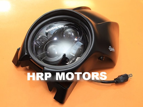 Honda Rebel 300/500 Led conversion headlight+Cowl(Diablo)