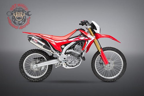 Honda CRF250L / RALLY 2017-19 Yoshimura RACE RS-4 Slip on exhaust