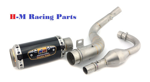 NB Racing Exhaust low mount