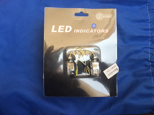 Led mini turn signals (pair)
