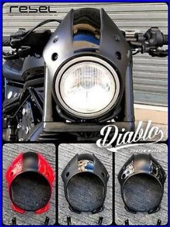 Honda Rebel Diablo Windscreen