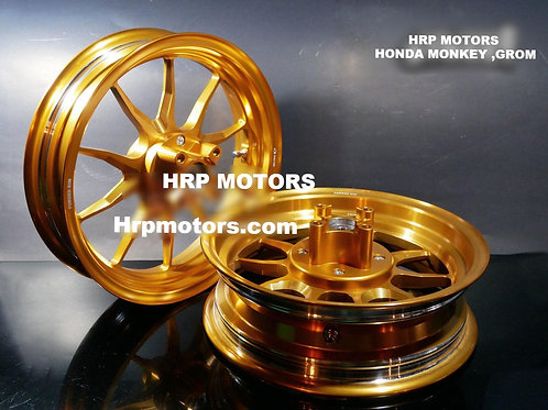 Honda Grom/Monkey Alloy wheels