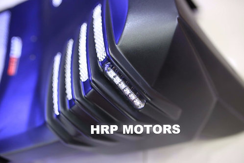 Honda Rebel bellypan V5 - Turn signals built in