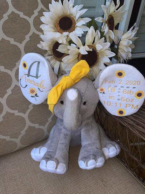 Birth Announcement Elephant and More